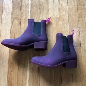 Jeffrey Campbell Shoes - ❌HOLD❌HP Jeffrey Campbell Purple Matte Rain boots